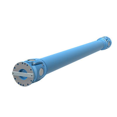 GWB ® Heavy-Duty Cardan shafts  for Down Coiler Drives, Wrapper Roll, Pinch Roll   </br> Series 390, 392, 393, 492