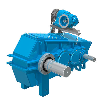 Brevini® Helical Bevel Helical Gearboxes – Posired 2 Series